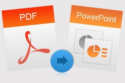 Convert PDF to PowerPoint on Mac
