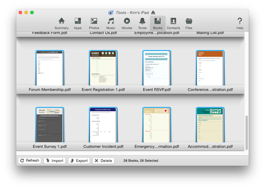 Transfer/Backup PDF from iPad to Desktop