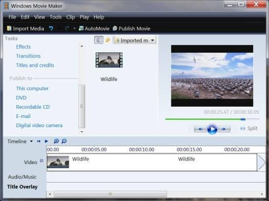 historytimeline of windows movie maker