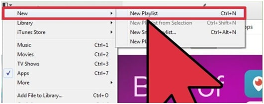 how to make a new playlist in itunes on iphone