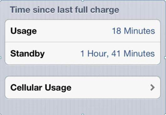 check the condition of battery iphone