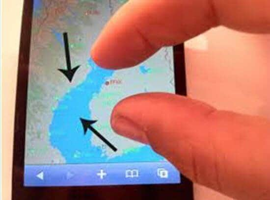 check iphone touchscreen