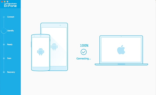 connect android phone to Mac