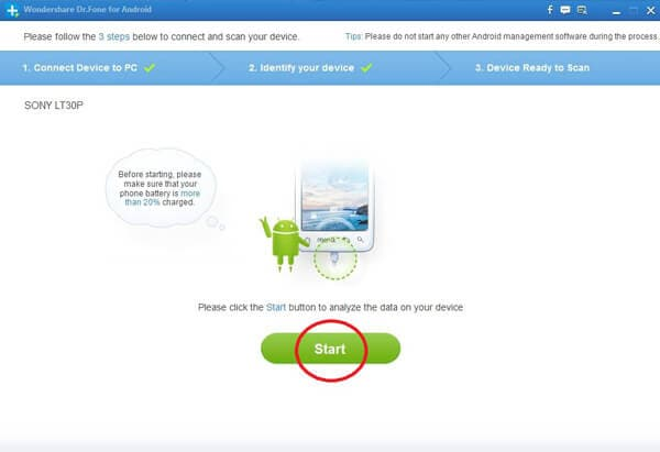 how to recover messages from sony xperia z
