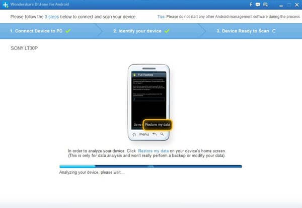 recover messages from sony xperia z