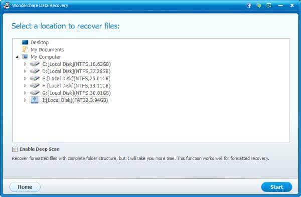 recover deleted files from laptop