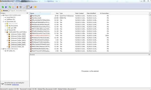 programa de recuperação de arquivos gratis