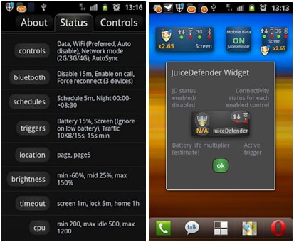 10 Best Booster for Android: JuiceDefender Battery Saver