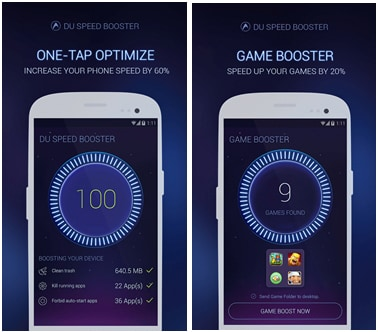 10 Mejores Amplificadores para Android: DU Speed Booster