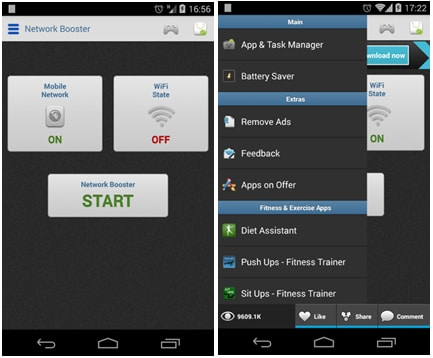 10 Mejores Amplificadores para Android: Network Signal Speed Booster