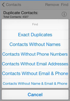 15 apps to clear iphone contacts use this app if you need an app that will help you eradicate a suite of useless information in your iphone with this you can delete multiple duplicate ccuart Image collections