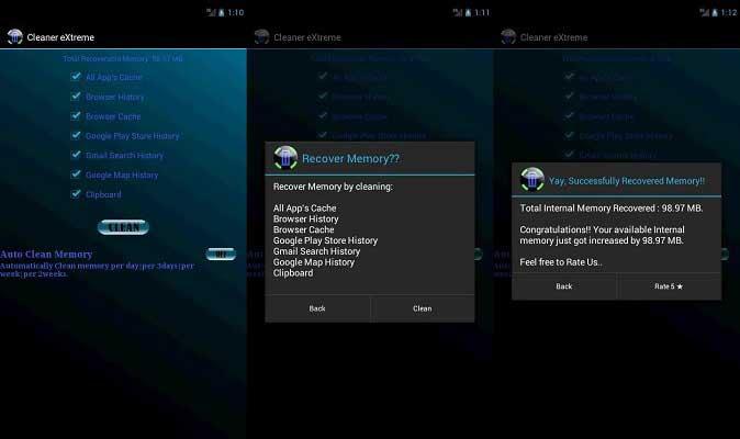 Mejor 7 Aplicaciones de Limpieza para Android