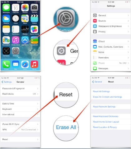 How to Remove All Data from iPhone