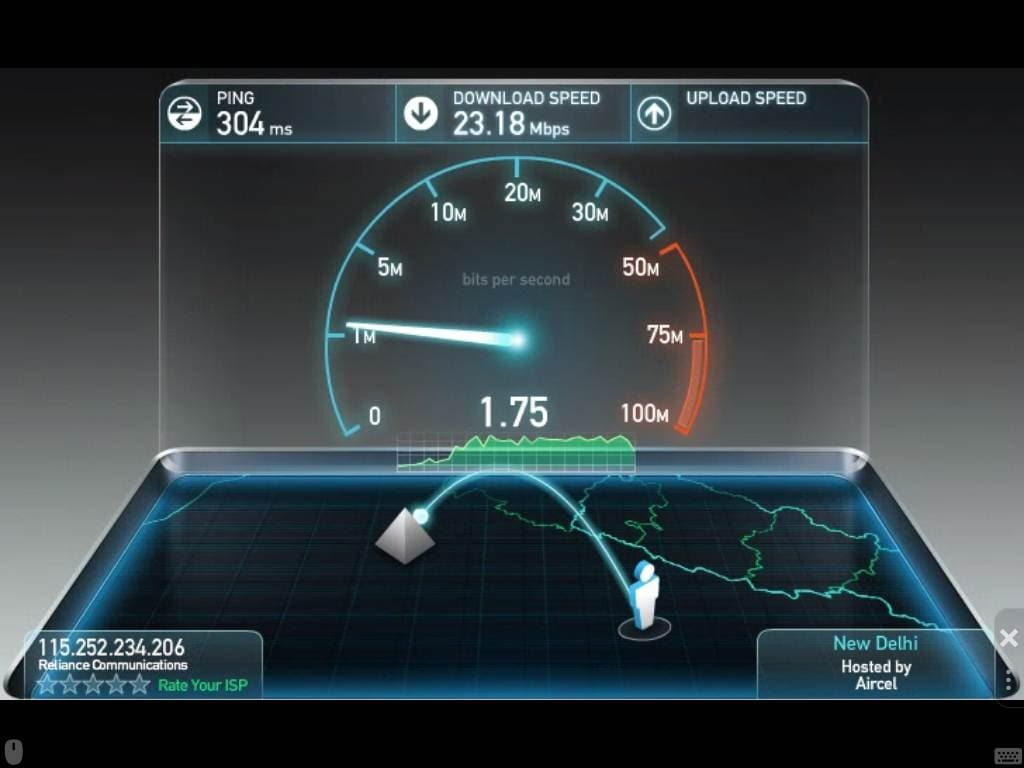 Broadband and Wi-Fi Internet Speed Test