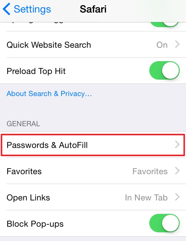 change autofill iphone how to clear autofill on iphone 1395