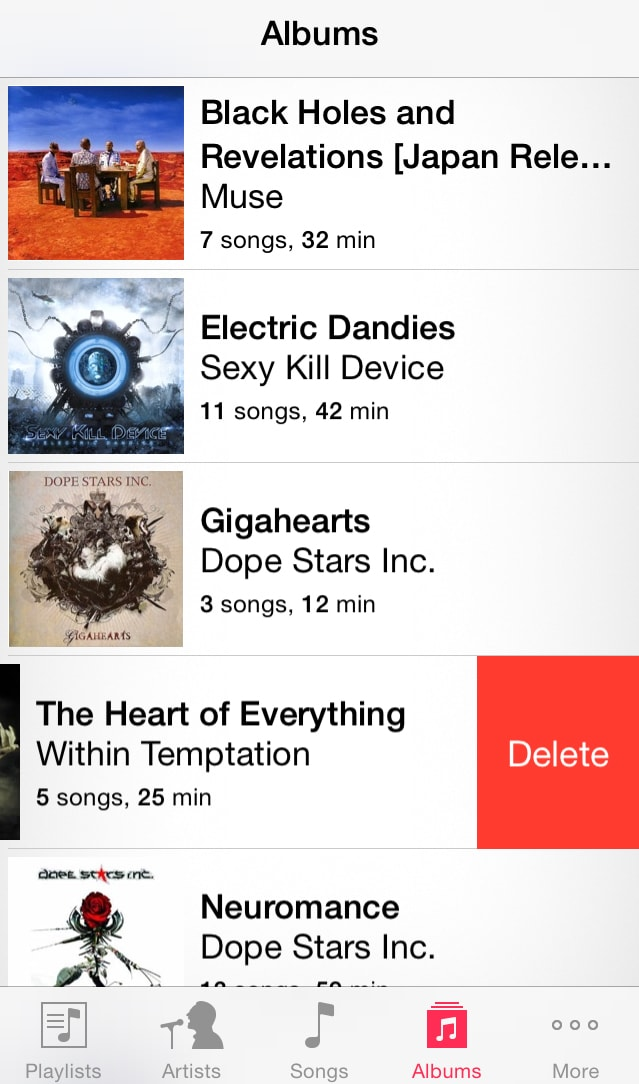 How to Delete Albums from iPhone