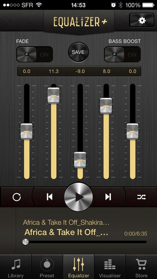 Volume Boost Apps for iPad: Equalizer +