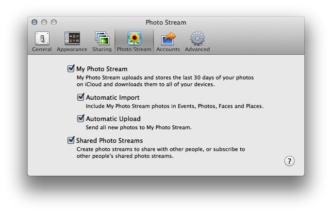 hämta bilder från icloud mac
