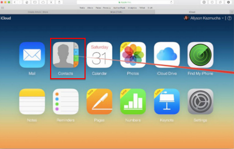 Two Ways to Backup iCloud Contacts