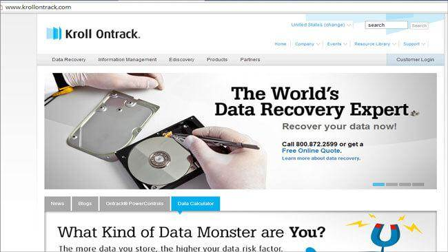 hard drive recovery cost