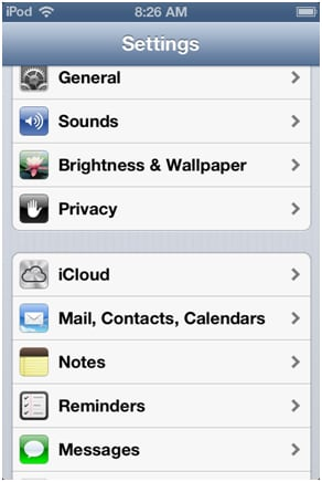 synchroniser les messages texte de l'iPhone avec iCloud