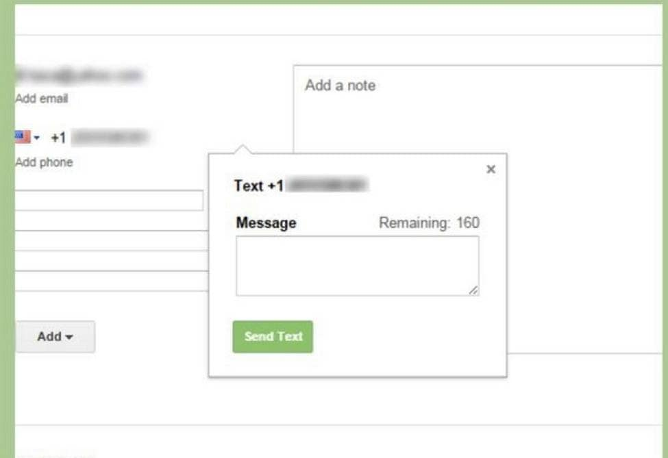 how to send and receive text messages on computer