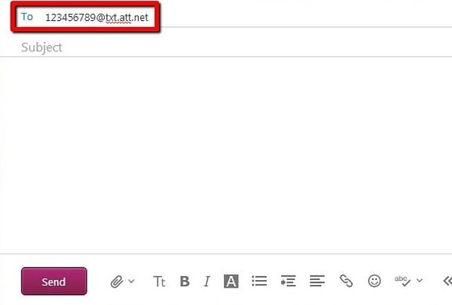 Easy steps to send text message via E-mail, or vice versa