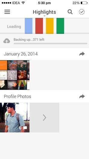 Backup Phone Photos to Google