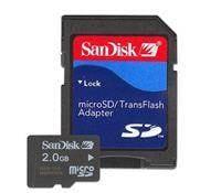 carte mémoire SanDisk