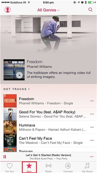android to iphone music transfer