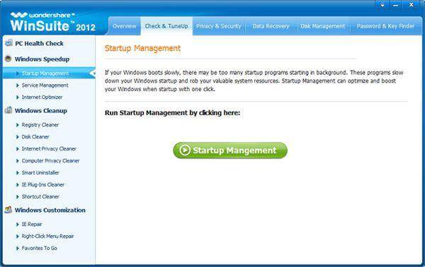 windows 7 startup manager