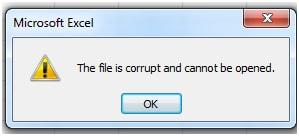 Beschädigte Dateien