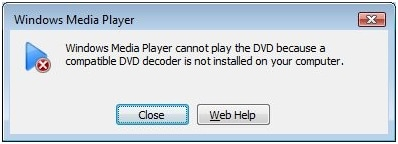 dcodeur dvd compatible windows media player