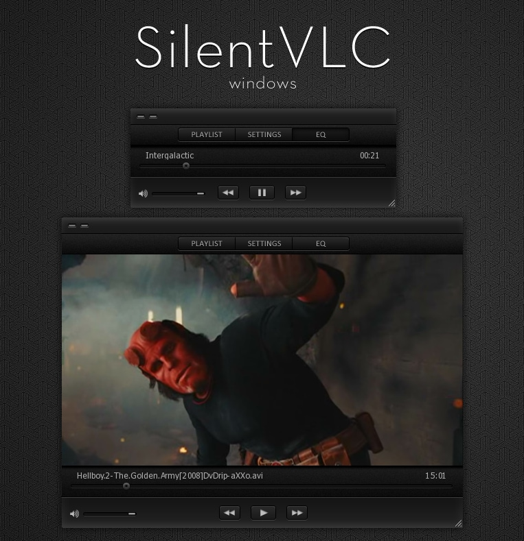GitHub - varlesh/VLC-Arc-Dark: Arc Dark skin for VLC