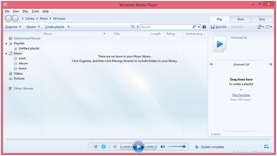 how to add downloaded music to windows media player