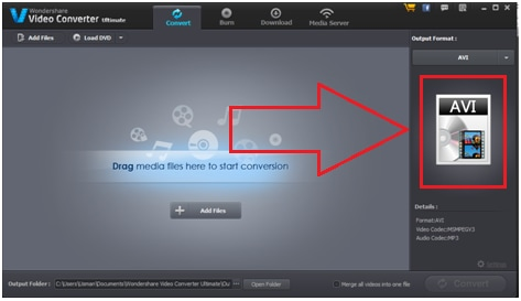 How to Convert AVCHD to AVI on Windows/Mac OS