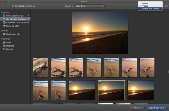 How to Import MTS to iMovie