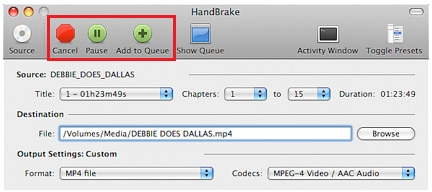 convert mts using handbrake free