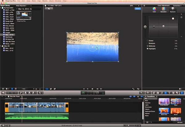 load 4k videos to fianl cut pro