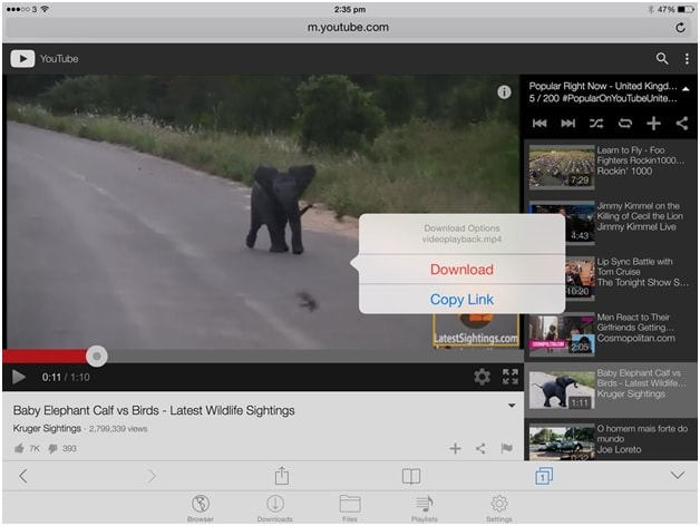 How to download youtube videos on ipad directly [2017].