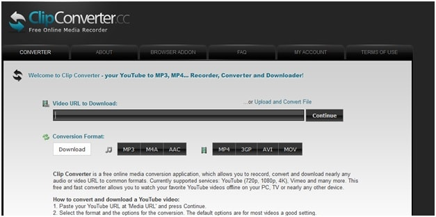 Top 3 YouTube to AVI Online Converter