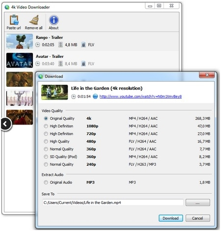 Top 5 youtube to mov Downloader