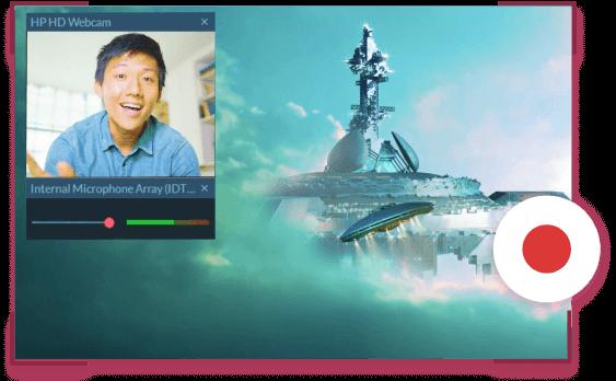 FilmoraScrn-操作画面