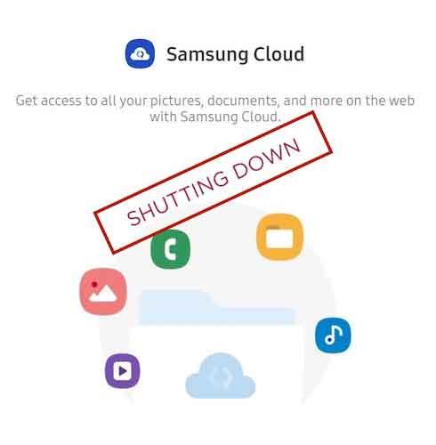 Samsung Cloud Shutting Down