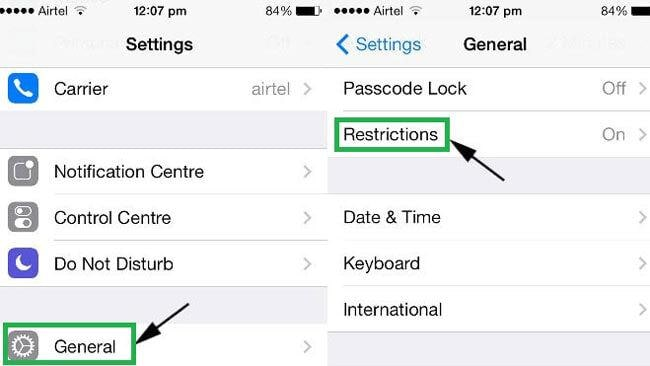 where is location services on iphone hur till aktivera positioneringstj 228 nster p 229 iphone och 3545