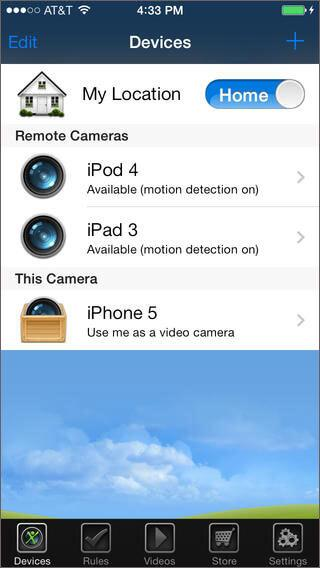 Home security apps for iphone-Presence