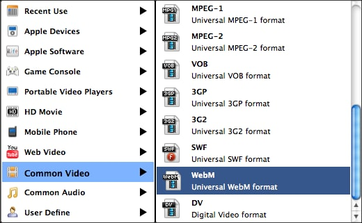 convert videos into HTML5 formats on Mountain Lion