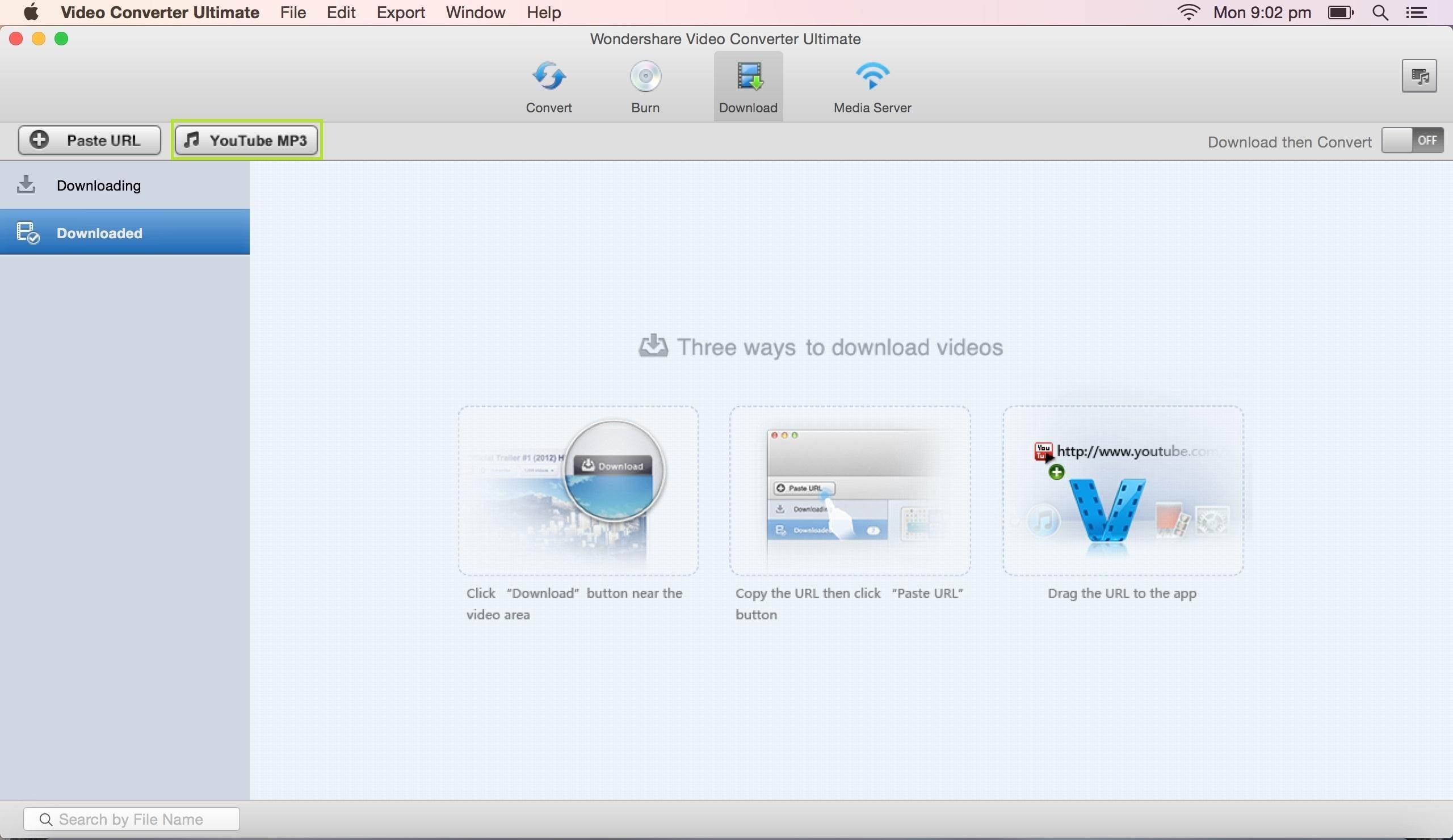 คู่มือผู้ใช้ Wondershare Video Converter Ultimate for Mac