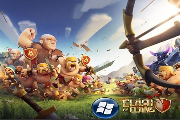clash of clans download for nokia asha/