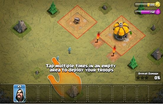 Download clash of clans (coc) free for java mobile phone.